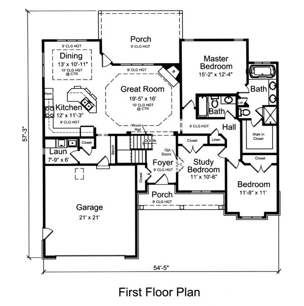House Plans 2000 Square Feet One Level: 11 Best House Plans 1500-2000 Sq. Ft. Images On Pinterest