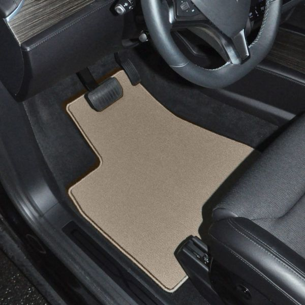 GGBAILEY Classic Loop Car Mats are OEM quality automotive fade and stain resistant 20 oz nylon carpet. Offered in three different colors of Beige, Black and Grey. These custom fit mats are both luxurious and durable. All mats include the highest quality OEM standard anti-slip automotive backing and are equipped with our patented anchoring system or factory compatible mat anchoring devices.  We will process and ship your order in just 2 business days.