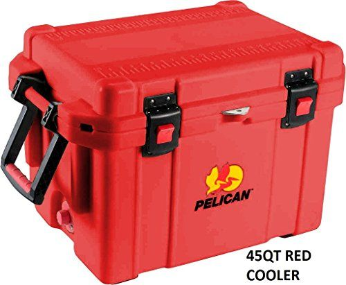 """Camping Kitchen :""""PELICAN 45 quart ProGear Elite Cooler : Red"""" * Trust me, this is great! Click the image."""