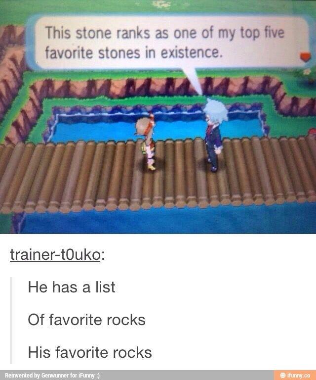 Rocks for life! XD