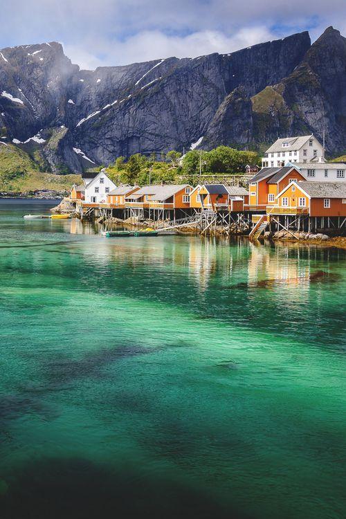 Reine, Norway | Marc Schmittbuhl #wanderlust #travel #adventure #escape #bliss  k▲itvictori▲