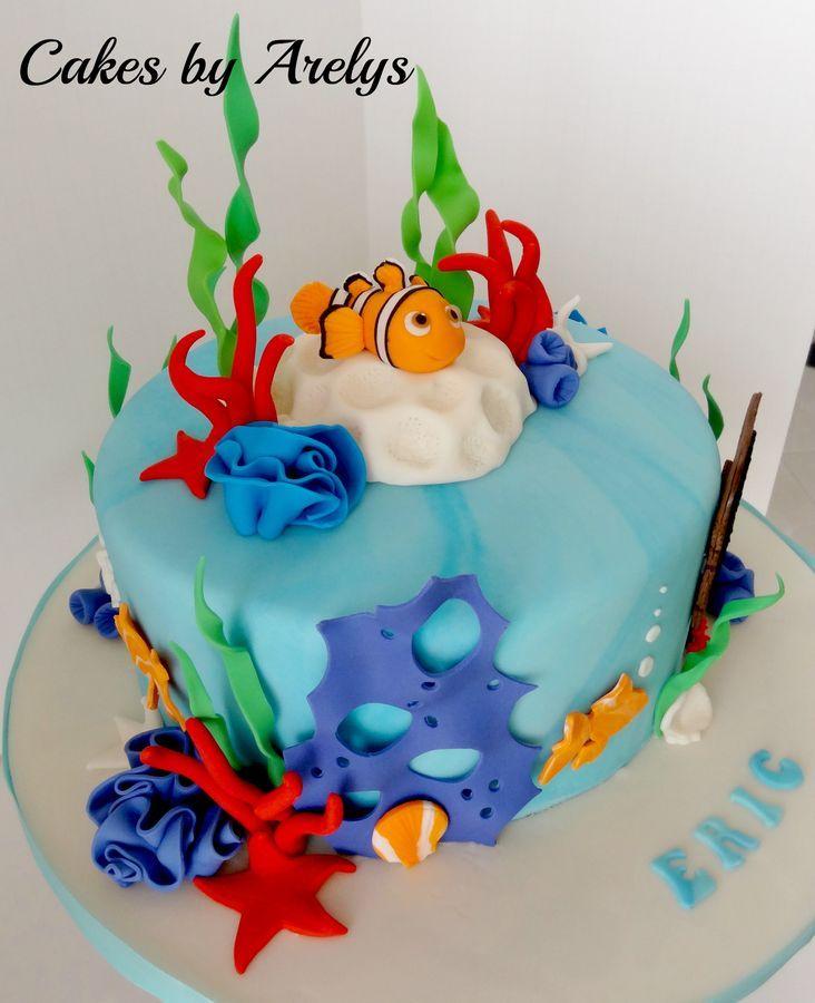 Nemo Cake: 70 Best NEMO Fondant Cake Images On Pinterest