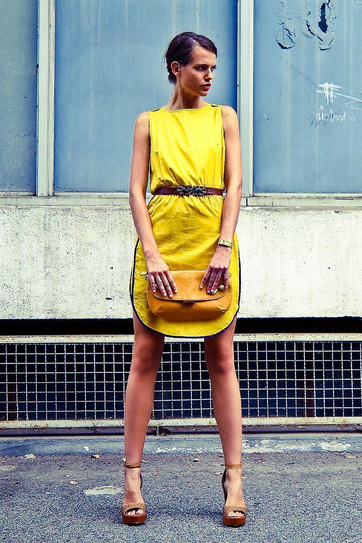 Look Urban Yellow #3 sur Elle : Baum und Pferdgarten , Fru.it , BF by Beatriz Furest , Momoni , Anne Thomas