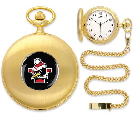 "Youngstown State Penguins Gold Pocket Watch: ""Suntime has thoughtfully crafted a superior quality timepiece in gold tone… #onlinesports"