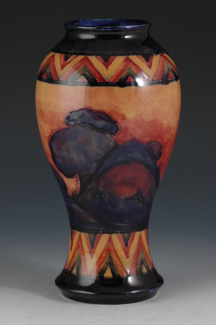 Moorcroft Flambe Dawn Design: Art Nouveau, 1900 1940 Interieur, Beautiful Vases, Designer S Den, Lovely Vases, Art Pottery Roseville Plus, Antique Ceramics