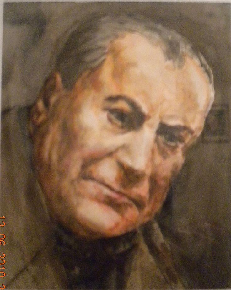 Fikret Mualla (selfportrait).