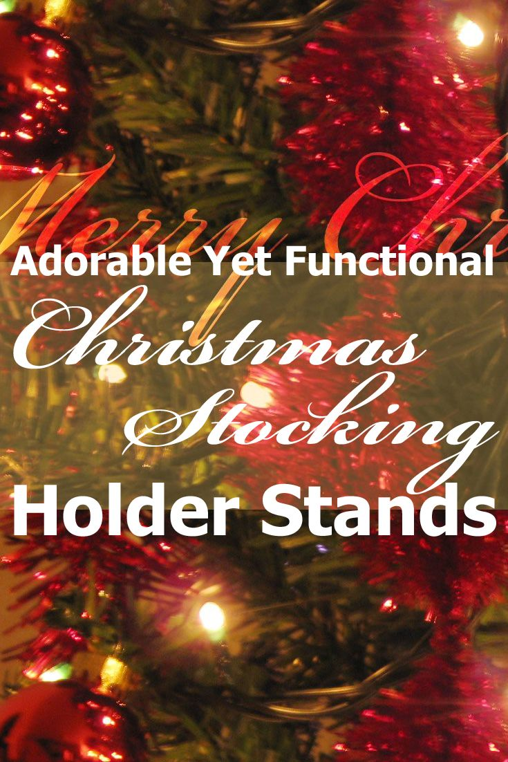 43 best christmas stocking holder stands images on pinterest