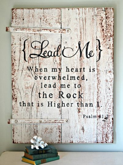 Psalm 61:1-4 NASB - 1Hear my cry, O God; Give heed to my prayer. 2From the end of the earth I call to You when my heart is faint; Lead me to the rock that is higher than I. 3For You have been a refuge for me, A tower of strength against the enemy. 4Let me dwell in Your tent forever; Let me take refuge in the shelter of Your wings. Lead Me - Aimee Weaver Designs
