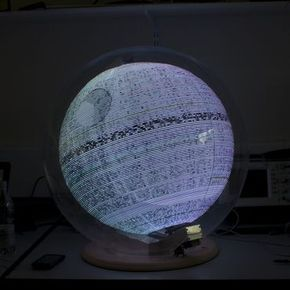 Raspberry Pi used to make holographic Death Star