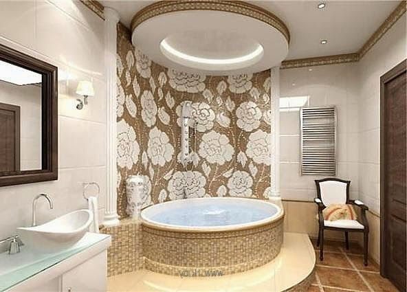 242 best ceilings images on pinterest ceiling design for Fall ceiling designs for bathroom