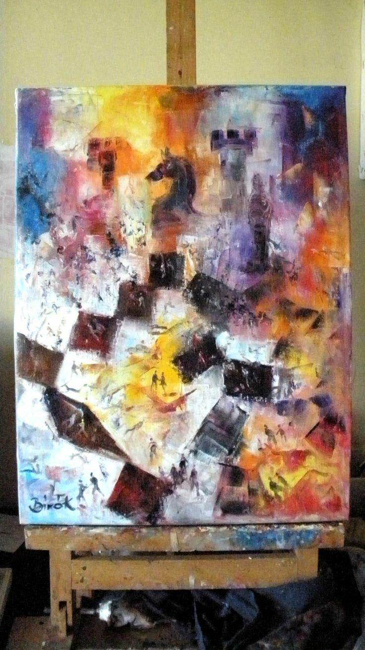 Konrad Biro Art - Chess series