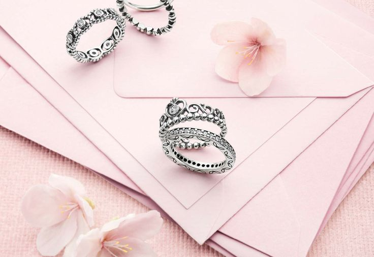 crown stacking ring pandora crown rings accessories. Black Bedroom Furniture Sets. Home Design Ideas