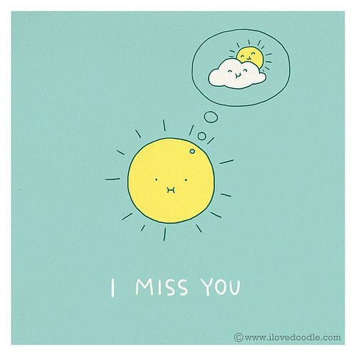 Miss you - Happy drawings :)