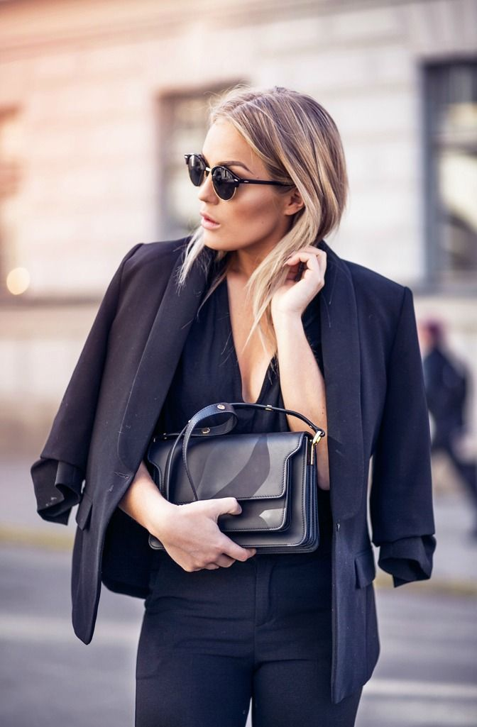 easy chic | Work style.