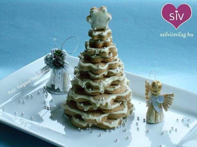 Mézeskalács karácsonyfa - Szilvi ÍzVilág