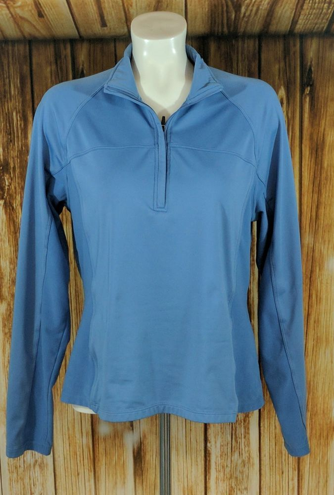 North End Sports Ladies Athletic Pullover size L (C) #NorthEndSports #BaseLayers