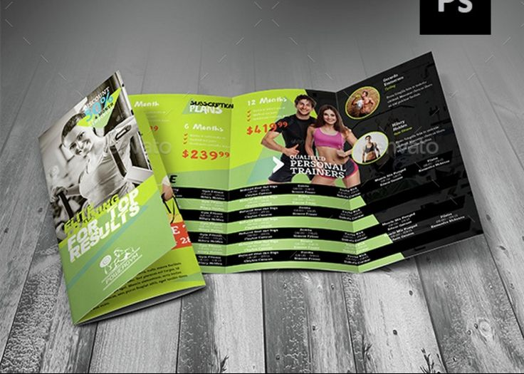19 best 15+ Fitness Brochure Template Word, InDesign, EPS and PSD - fitness brochure template