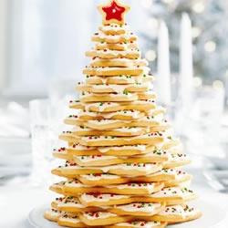 Holiday Cookie Tree Centerpiece Allrecipes.com