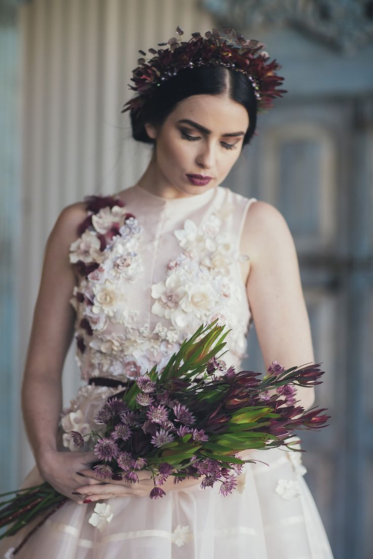 Mexican Love Story Wedding Inspiration Hair & Makeup by Kelsey  Styling and Art Direction By Jacqui