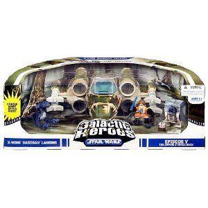 Amazon.com: Star Wars Galactic Heroes Cinema Scene - X-Wing: Toys & Games