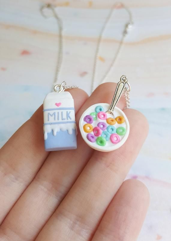 Lucky Charms Earrings Cute Polymer Clay Jewelry Gift