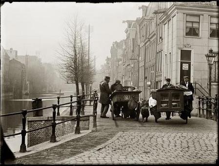 Foto Jacob Olie, Lijnbaansgracht 1899