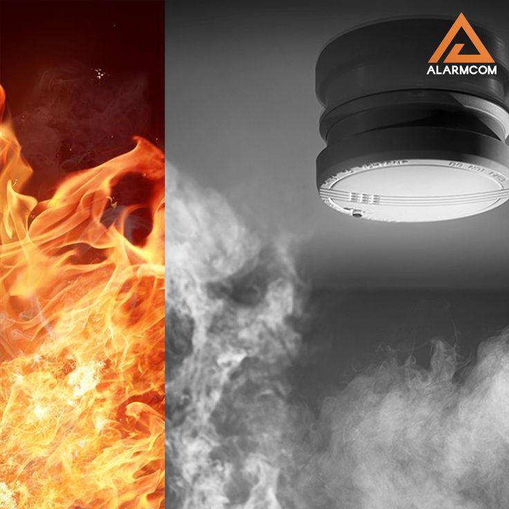 Alarmcom Akıllı Güvenlik Sistemleri ile evinizde gaz kaçağı olmasını ve olası bir yangını önlersiniz.