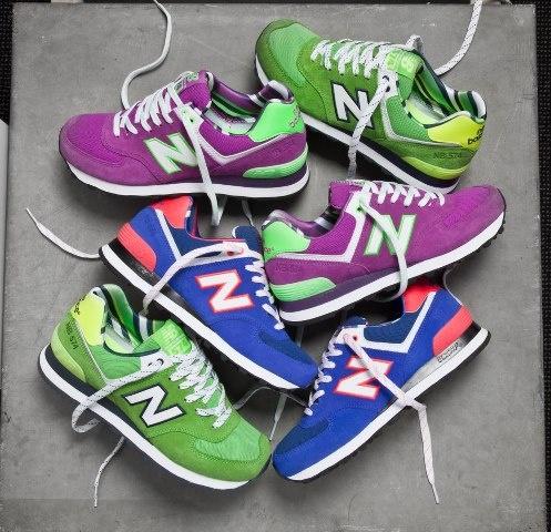 new balance  Bunte Sneaker von New Balance, Converse, DC, Vans und mehr bei Sizeer.de!