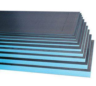 Panneau de construction à carreler WEDI en polystyrène extrudé ép.30mm haut.2,50m long.60cm