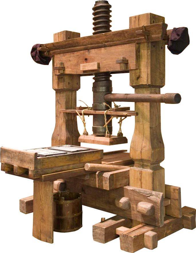 Gutenberg printing press | Printing history