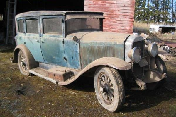 Eighty Years Waiting: 1929 Buick Sedan - http://barnfinds.com/eighty-years-waiting-1929-buick-sedan/