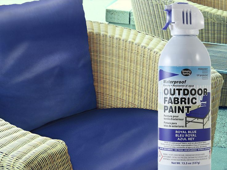 Royal Blue Waterproof Outdoor Fabric Spray Paint.
