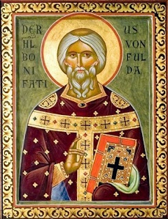 Orthodoxen Kirche im Deutschland: a website redeemed and transfigured...: St. Boniface, Enlightener of Germany (c. 672)