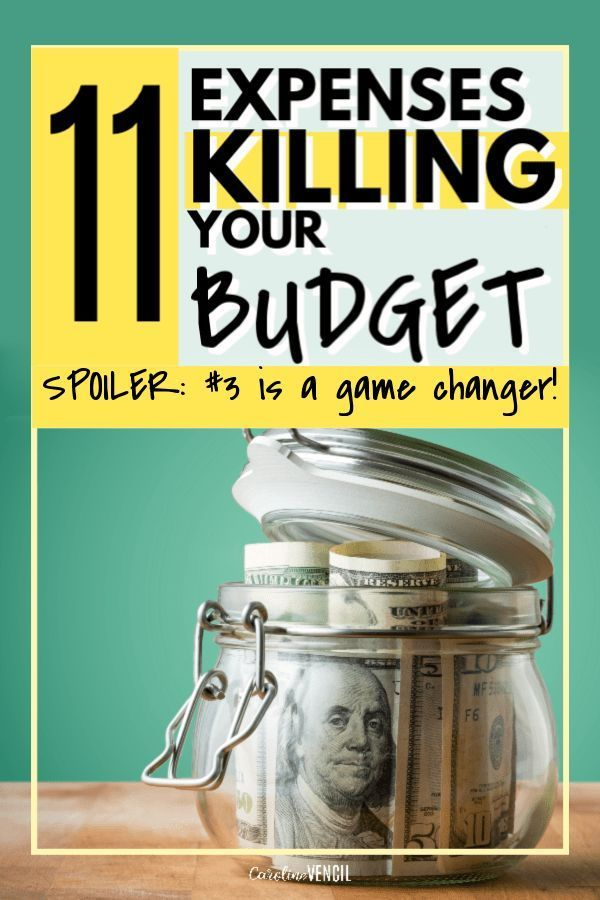11 expenses to stop wasting money on that are killing your budget. How to start saving money and living frugally by cutting out these expenses that are killing your budget and wasting money. Perfect tips and ideas to save money for low income or one income households and families.