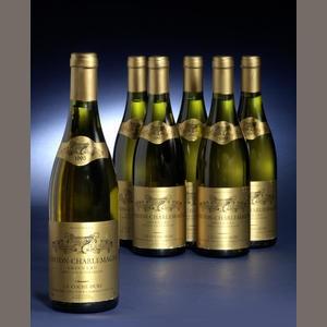 Corton-Charlemagne 1995  Sold for £7,130 inc. premium