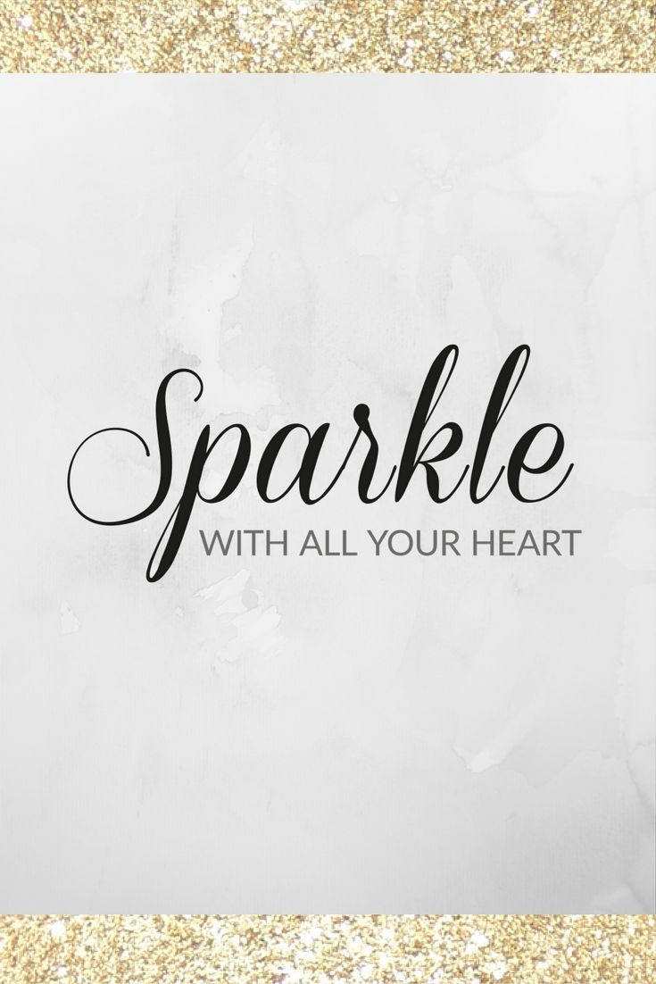 We couldn't agree more. Find the right sparkle for you at TotallyDazzled.com                                                                                                                                                                                 More