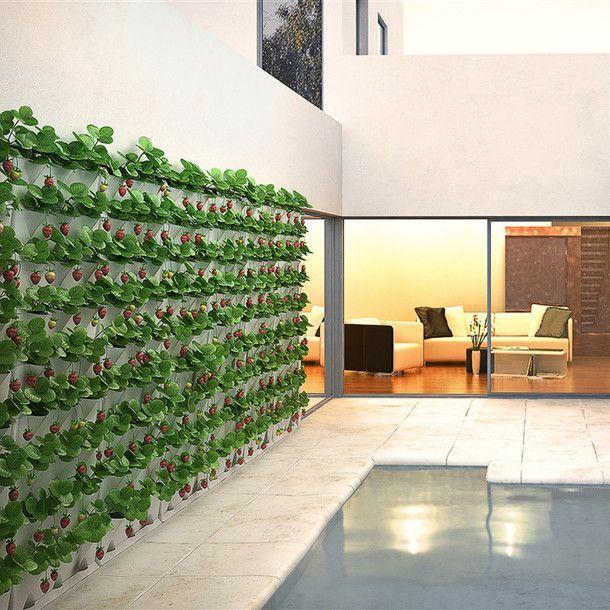 vertical garden set verticalgarden garden gardendesign - Wall Garden Design