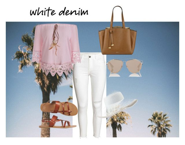 dainty #4 by cloverleaf0720 on Polyvore featuring polyvore fashion style Gap Nine West Eric Javits Christian Dior clothing