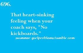 Swimmer Girl Problems...yes! you always start sinking and you have to breathe all the time