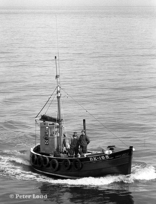 Fishing Boat Kindly Light, Seahouses, Northumberland