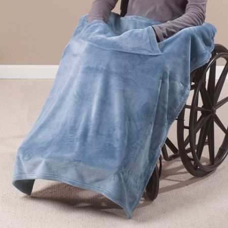 Granny Jo Lap Blanket :: wheelchair blanket with straps