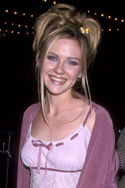 Hair accessories are to the '90s what hairspray was to the '80s—and plastic butterfly clips were the most sacred of all. Whether used sparingly à la Kirsten Dunst or decorating the whole head, you could never go wrong with wings.
