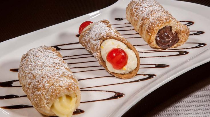 Treat yourself today! pastries chocolate italian