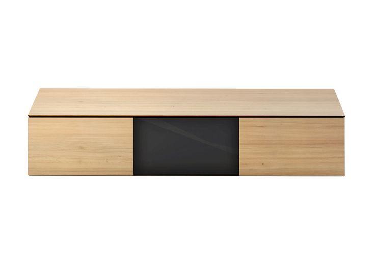 Moderne sideboard wand aus holz piana willisau for Sideboard tisch