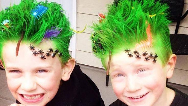 Crazy hair day ideas