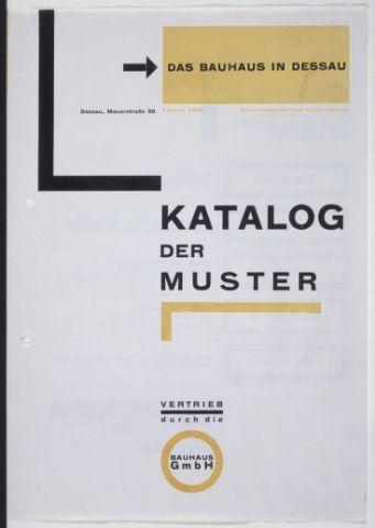 Unique Katalog der Muster Titelblatt