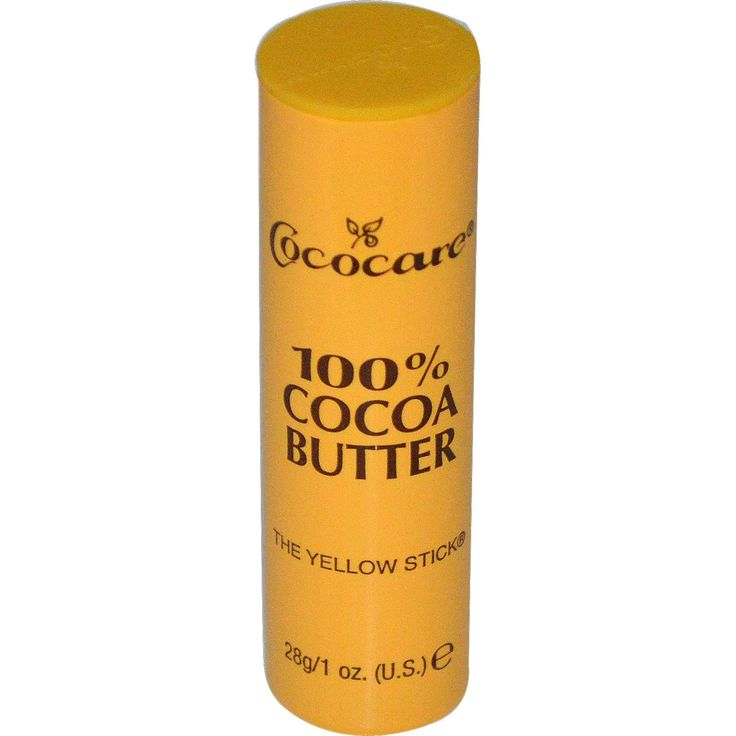 Melt cocoa stick and add to coconut oil, almond oil, and essential oils for hair growth. Use small amt. on ends before using curling/flat iron on hair