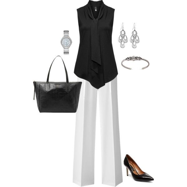 Plus Size Work Outfit, Plus Size Career Outfit by jmc6115 on Polyvore featuring Manon Baptiste and Michael Kors