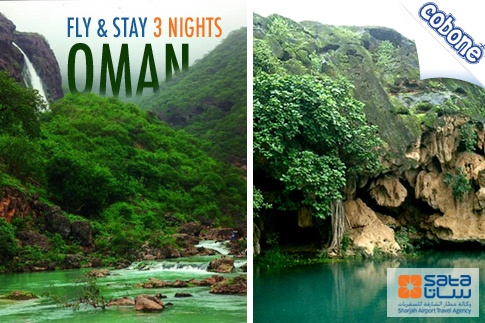 Escape to a world of absolute bliss with 3 Nights/4 Days in Salalah, Oman, inclusive of 3-Star Hotel Accommodation, Return Flights, Transfers and Breakfast from SATA Holidays for USD 399 per person – Flights depart every Thursday!