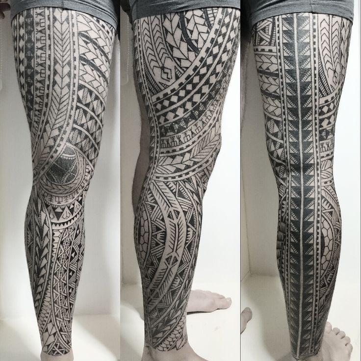 Polynesian full leg